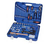 Набор инструмента 99 предметов. Качественный профессиональный ручной инструмент 099-MDA King Roy