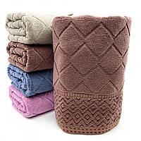 Полотенце банное махровое Ромбик, фото 1