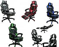 Геймерське ігрове крісло кресло спортивное DEUS LARGE 5 КОЛЬОРІВ Кресло спортивное игровое Кресло компьютерное
