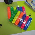 Набір кольорових текстовыделителей 6 шт, фото 2