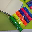 Набір кольорових текстовыделителей 6 шт, фото 3