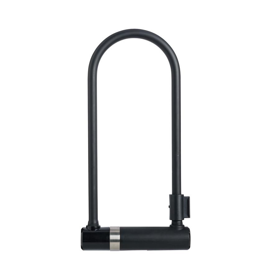 Велозамок AXA Newton U-Lock 300 мм черный