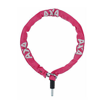 Велозамок AXA Plug-in RLC 100/5,5 розовый