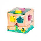 Развивающая деревянная игрушка-сортер - Волшебный куб Battat BX1763Z, фото 2