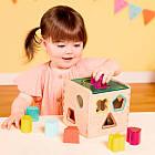 Развивающая деревянная игрушка-сортер - Волшебный куб Battat BX1763Z, фото 3