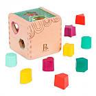 Развивающая деревянная игрушка-сортер - Волшебный куб Battat BX1763Z, фото 4