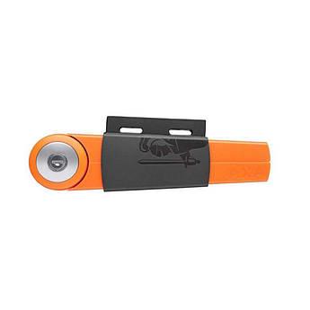 Велозамок AXA Toucan R16 120/6 оранжево-черный