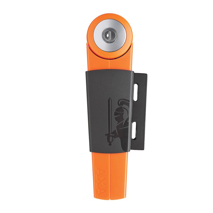 Велозамок AXA Toucan R16 80/4 оранжевый