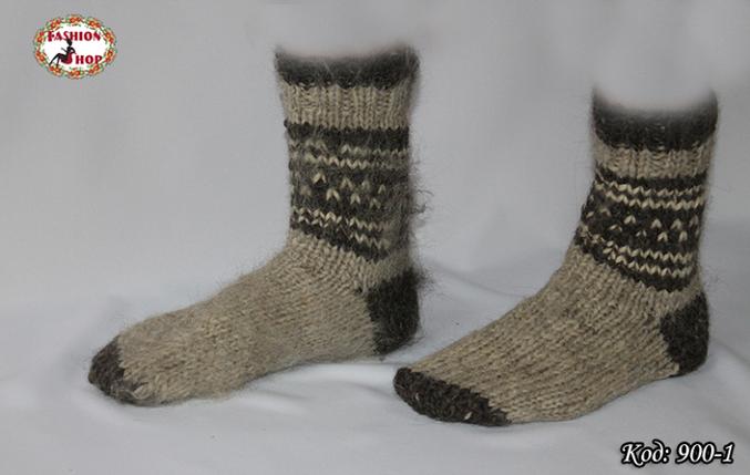 Настоящие шерстяные носки ручной работы Бостон, фото 2