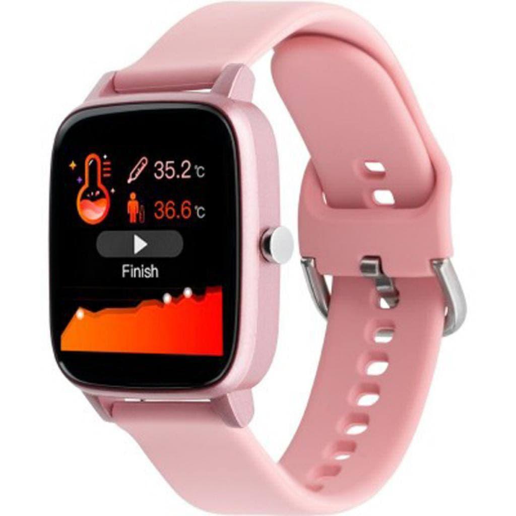 Smart Watch Gelius Pro (IHEALTH 2020) Pink  шагомер, термометр, счетчик калорий, шагомер