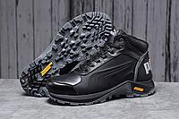 Зимние мужские кроссовки 31672, Puma G-Step, черные, [ 44 ] р. 40-26,5см. 44 (T7-D)