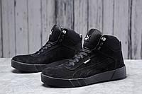 Зимние мужские кроссовки 31692, Puma Desierto Sneaker, черные, [ 42 ] р. 40-26,0см. 42 (T7-D)