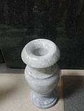 Ваза мраморная белая, фото 2