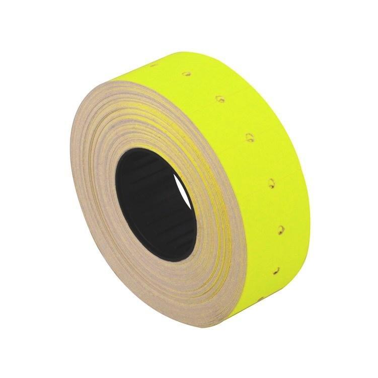 Ценник бумажный Economix E21305-05, 26*16 мм, 500 шт., желтый (10/1)