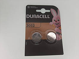 Батарейка для часов. DuracellCR2032 3.0V 200mAh 20x3.2mm. Литиевая