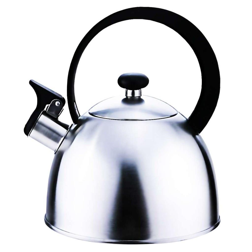 Чайник со свистком из нержавеющей стали Con Brio CB-400 | металлический чайник Con Brio