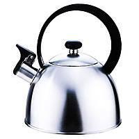 Чайник со свистком из нержавеющей стали Con Brio CB-400 | металлический чайник Con Brio, фото 1
