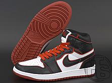 Мужские кроссовки Air Jordan 1 Retro High Bloodline Black White Red ALL02606, фото 2