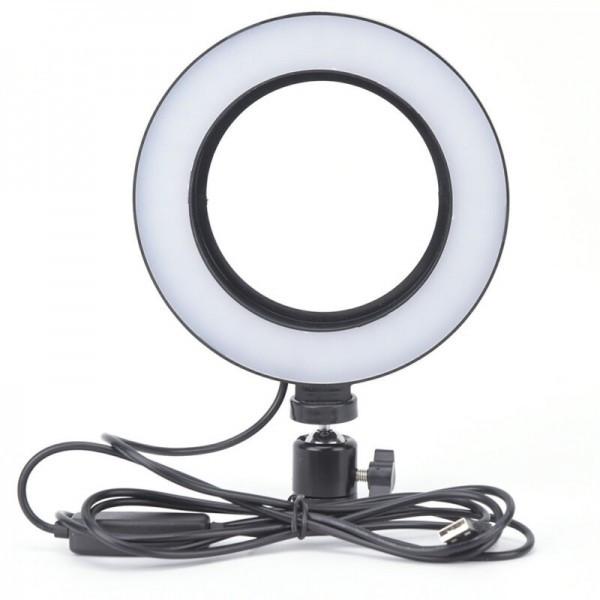 Кільцева лампа для професійної зйомки Ring Fill Light LED 6 CXB-160 (16 см)