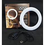 Кільцева лампа для професійної зйомки Ring Fill Light LED 6 CXB-160 (16 см), фото 2