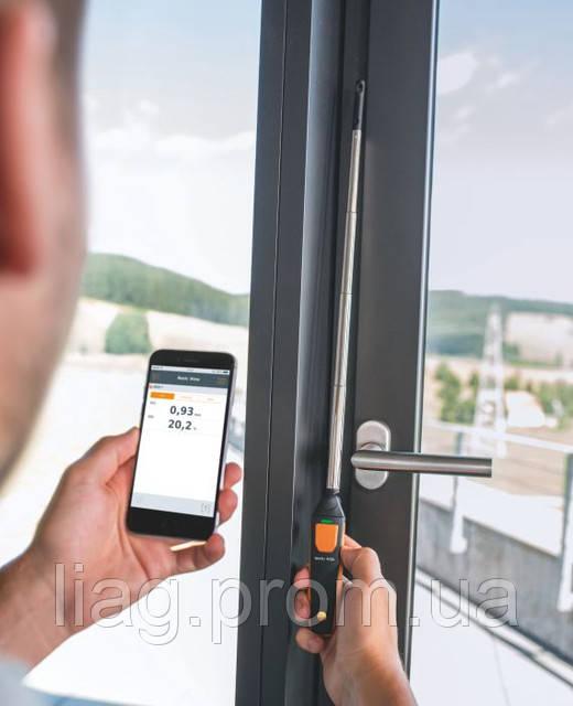Беспроводные приборы фирмы Testo серии Smart Probes (Смарт зонди)