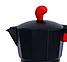 Гейзерная кофеварка Con Brio CB-6609 на 9 чашек   турка Con Brio красная, фото 3