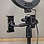 Кольцевая лампа светодиодная 26см CBX-260A + держатель в комплекте   led лампа для смартфона, фото 4