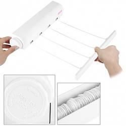 Автоматична білизняна мотузка   вішалка для одягу   настінна вішалка для сушки одягу