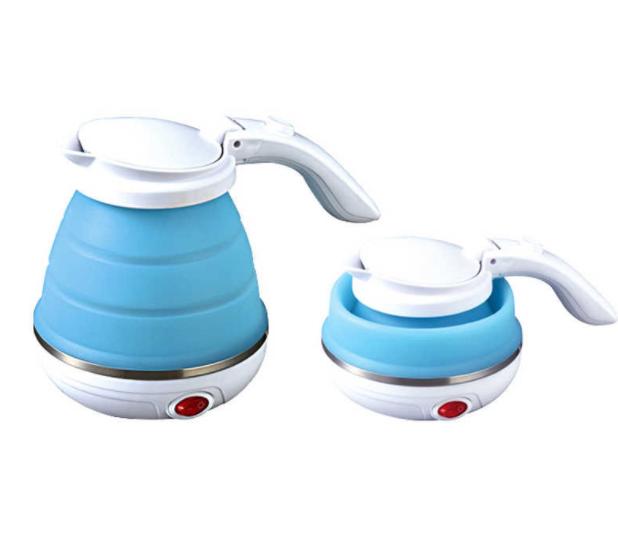 Дорожный силиконовый электрочайник Kettle | чайник электрический складной силиконовый