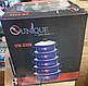 Набор кастрюль UNIQUE UN-2356 эмалированных 10 предметов Синий из нержавеющей стали, фото 2