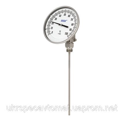 Биметаллический термометр промышленная серия, фото 2
