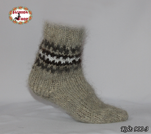 Настоящие шерстяные носки ручной работы Аркан, фото 2