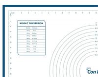 Силіконовий килимок для випічки Con Brio CB-677 | килимок кондитерський Con Brio | килимок для тіста синій