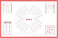 Силіконовий килимок для випічки Con Brio CB-679 | килимок кондитерський Con Brio | килимок для тіста салатовий