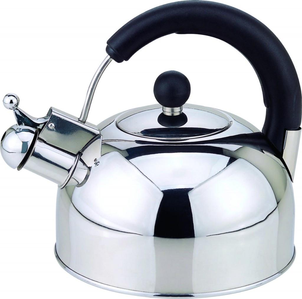 Чайник со свистком из нержавеющей стали Con Brio CB-402M   металлический чайник Con Brio