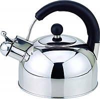 Чайник со свистком из нержавеющей стали Con Brio CB-402M   металлический чайник Con Brio, фото 1