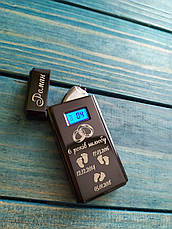 USB зажигалка в подарочной упаковке. C гравировкой на подарок!, фото 3