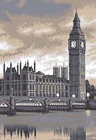 """Схема для вышивки бисером на атласе """"Лондон"""" Размер 36х54 см."""