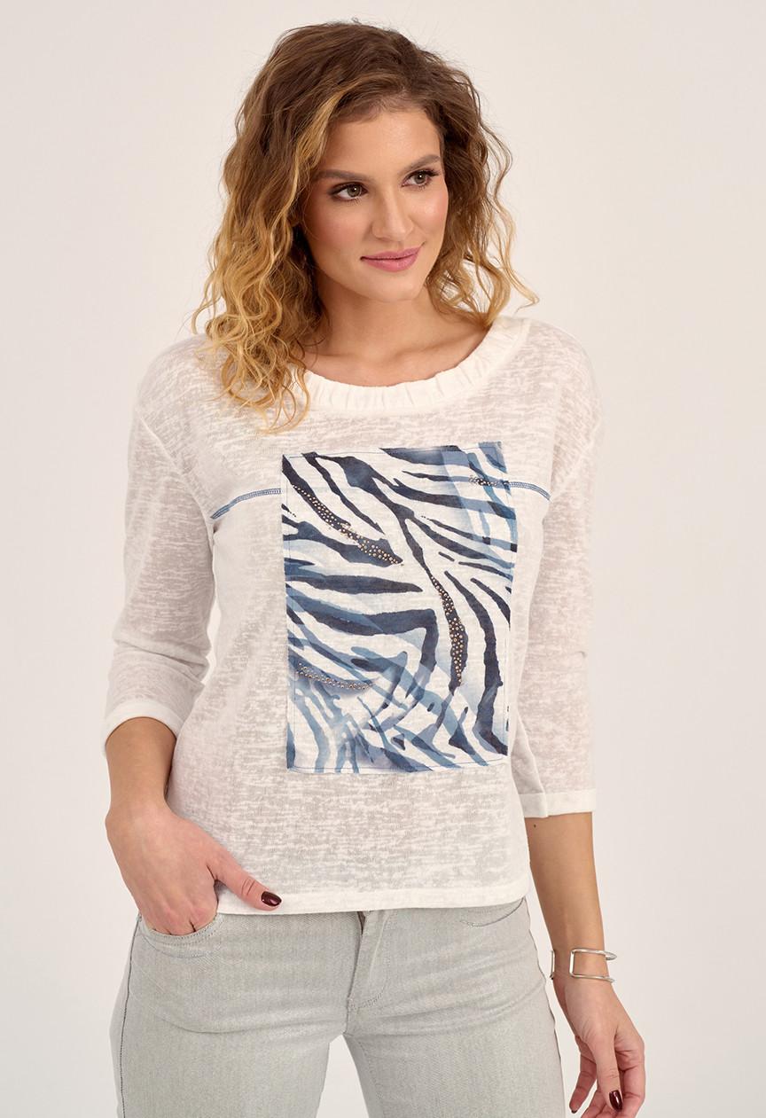 Sunwear блуза D05, коллекция весна-лето 2021