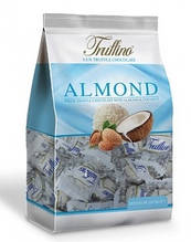 Конфеты Truffino из белого шоколада с миндалем  и кокосом  , 450 гр