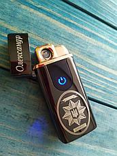Подарочная USB - зажигалка  на два режима с вашей гравировкой!, фото 3