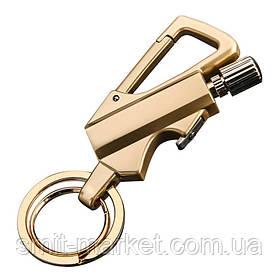 Бензинова запальничка - брелок, з відкривачкою для пляшок