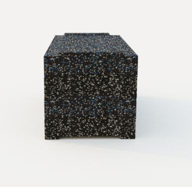 Бокс пліометричний гумовий 3 в 1 PuzzleGym PB-01