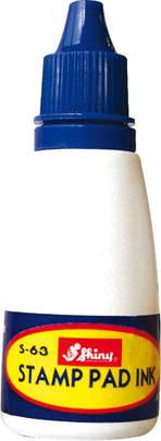 Краска штемпельная Shiny синяя (28 мл.), фото 2