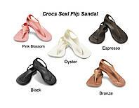 Босоножки Crocs Sexi Flip Sandal р.W5,W7,W8,W9,W10