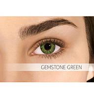 Зелёные цветные контактные линзы Air Optix Colors Gemstone Green 2шт.