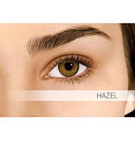 Коричневые цветные контактные линзы Air Optix Colors Hazel 2шт.
