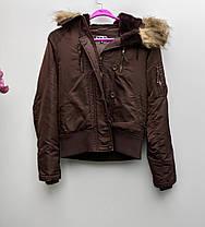 Жіноча якісна куртка Розмір S ( А-62), фото 2