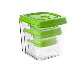 YOER VSS01BK Вакуумные контейнеры для вакуумного упаковщика Fresh Food