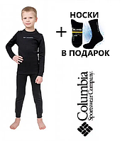 Детское термобелье Columbia термобілизна Коламбія комплект +носки